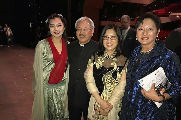 "Pureum Jo, Ed Lee, Anita Lee and Doreen Ho at Hong Kong premiere of ""Dream of the Red Chamber"""