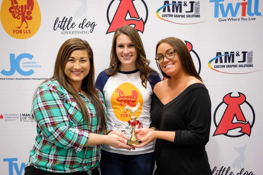 Were you Seen at the 2nd Annual Clucks & Pucks, a benefit for the Leukemia & Lymphoma Society, on Saturday, March 25, 2017 at Times Union Center in Albany?1st Place Winner: Bull & Barrel Photo: Momentseen