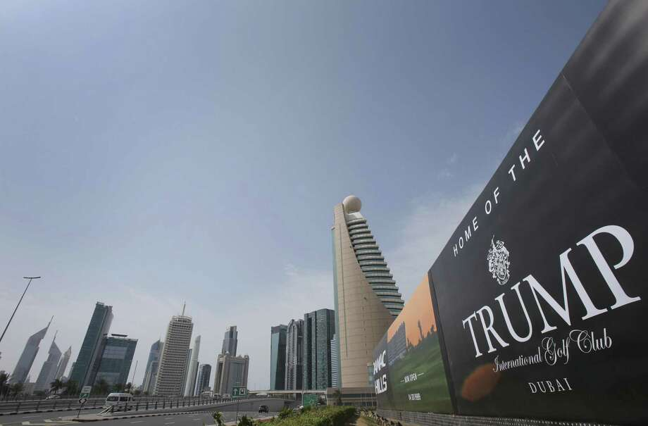 Donald Trump holds a trademark in Jordan for a casino in his name despite gambling being illegal in the kingdom — one of four he received in the years before he became president, the Associated Press has learned. The trademarks suggest Trump, a former casino executive, may have had wider hopes for the Middle East than previously known. Photo: Kamran Jebreili /Associated Press / Copyright 2017 The Associated Press. All rights reserved.
