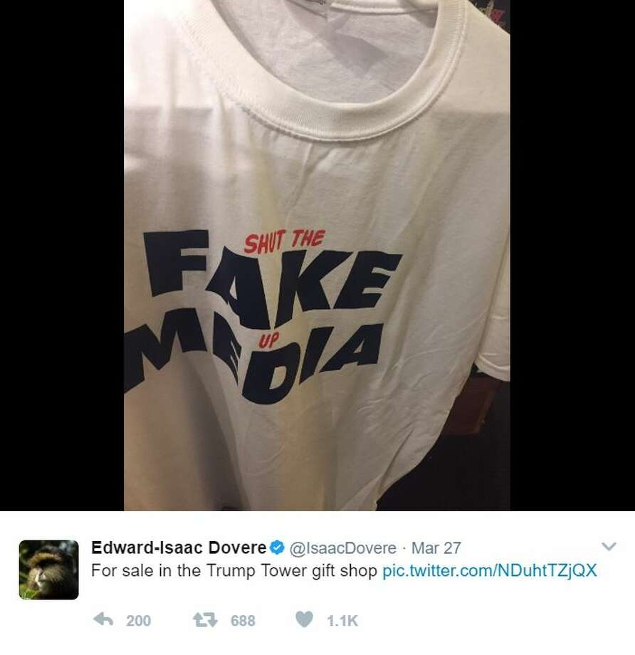 """""""For sale in the Trump Tower gift shop""""Source: Twitter Photo: Twitter"""