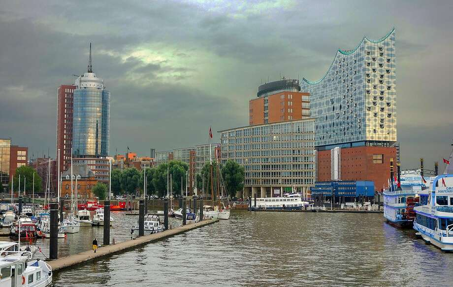 The burgeoning HafenCity district and its spectacular new Elbphilharmonie concert hall are part of the revitalization of  Hamburg's riverfront in Germany. Photo: Rick Steves, Rick Steves' Europe