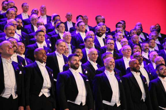 "The San Francisco Gay Men's Chorus performs its ""Paradise Found"" concert  Thursday, March 30, through Saturday, April 1, at the Herbst Theatre"