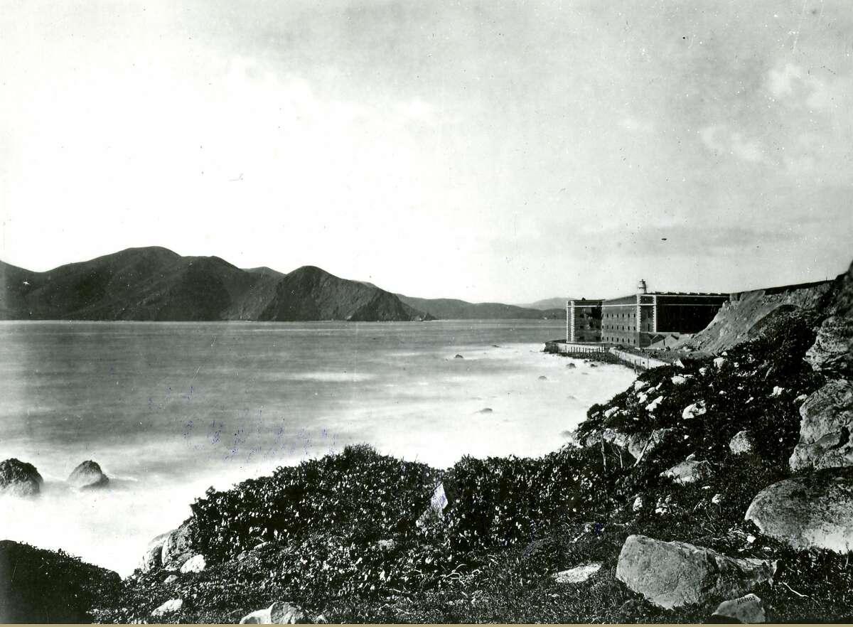 Fort Point, San Francisco Presidio, ca. 1880's.