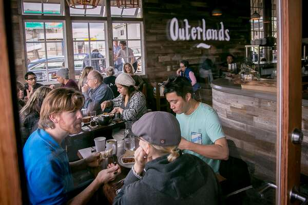 Diners have brunch at Outerlands in San Francisco, Calif. on November 29th, 2014.