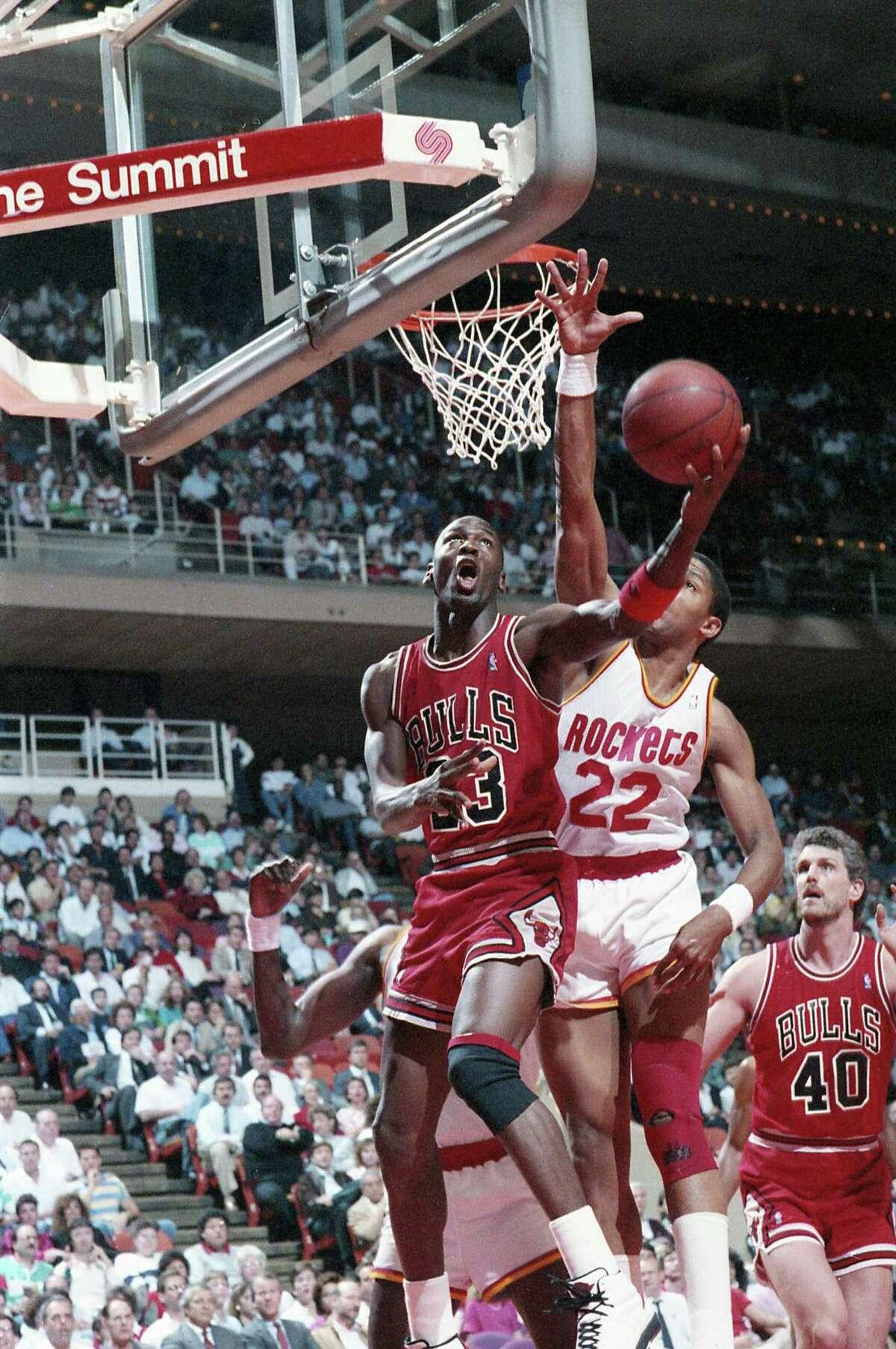Michael Jordan won six NBA titles via two three-peats in eight years.