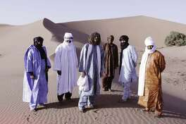 Tinariwen plays rock that draws on the melodies and rhythms of Mali.