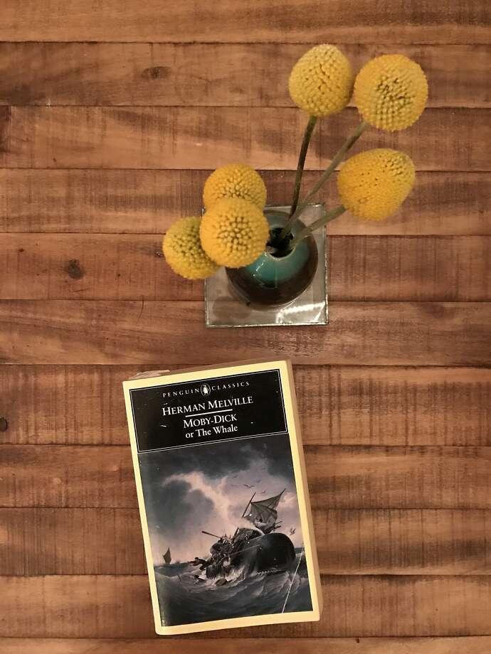 "Stephen Sparks' battered paperback edition of ""Moby-Dick."" Photo: Stephen Sparks"