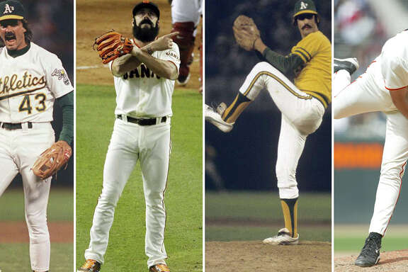 Dennis Eckersley, Brian Wilson, Rollie Fingers and Robb Nen.