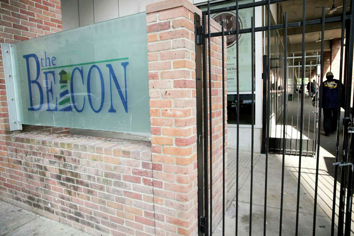 Homeless residents went to The Beacon on Tuesday in a city-sponsored event to learn about housing options. The city is moving forward with plans to expand panhandling enforcement and to build