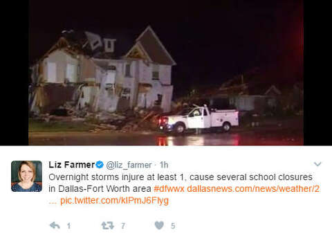 Live YouTube stream shows last moments of 3 Texas storm chasers