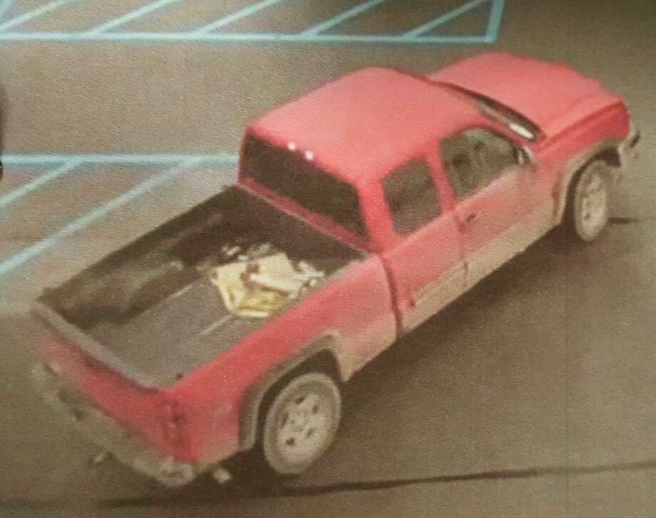 A security camera photo of the truck.