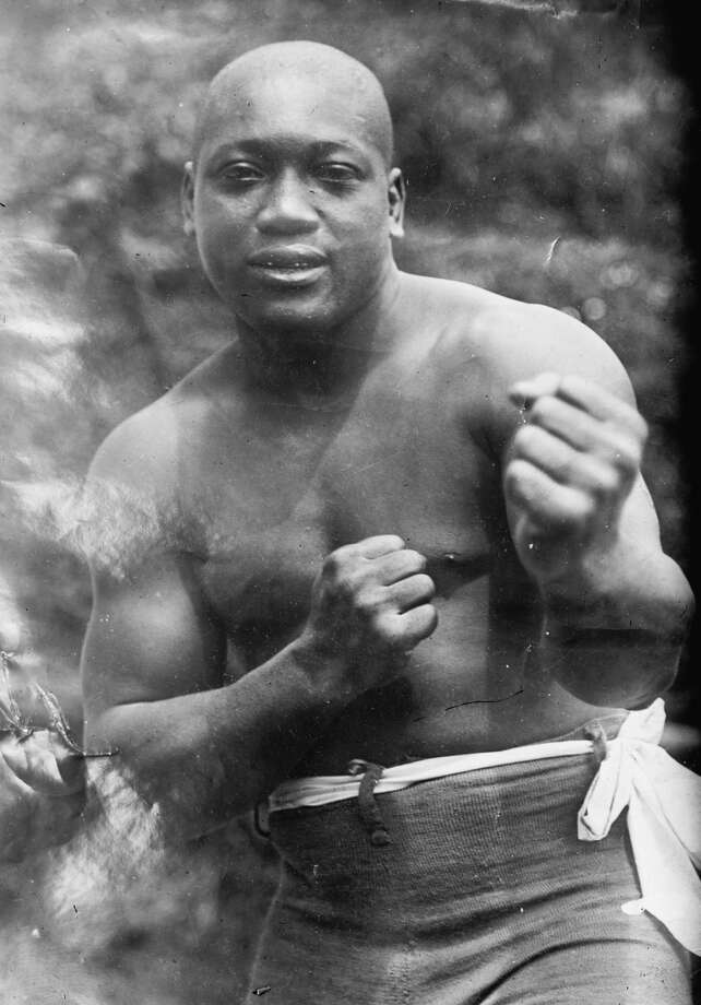 "UNITED STATES - CIRCA 1912:  Jack Johnson, ""the Galveston Giant"", Heavyweight Champion of the World  (Photo by Buyenlarge/Getty Images) Photo: Buyenlarge/Getty Images"