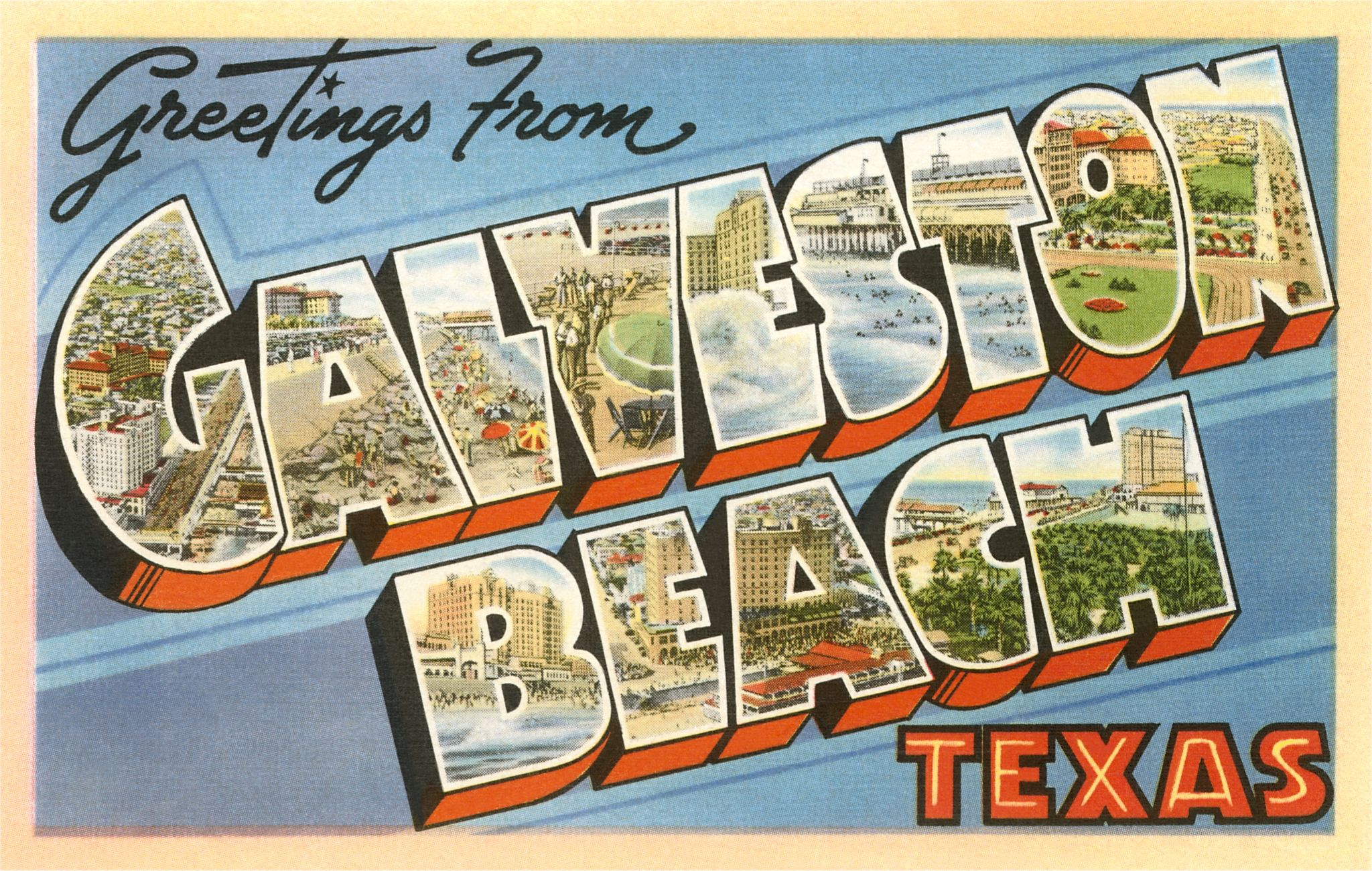 Vintage Pictures Of Galveston Texas Underrated Jewel Houston