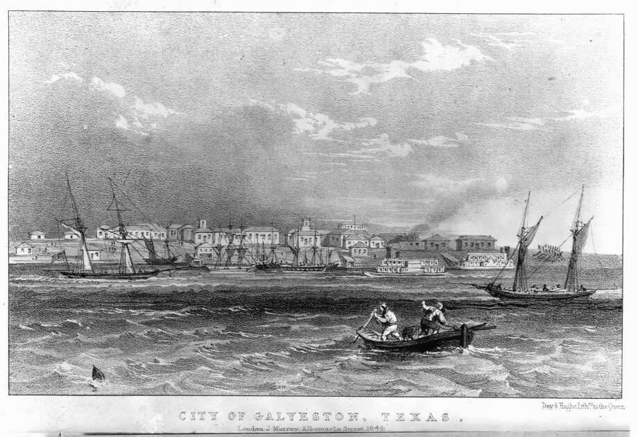 City of Galveston, Texas by Day & Haghe, December 31, 1843. Photo: Library Of Congress/Corbis/VCG Via Getty Images