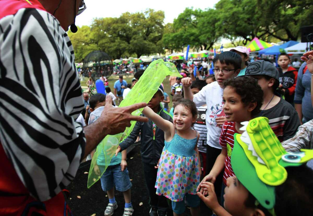 The McDonald's Children's Festival features plenty of fun activities for the kids during its two-day run.