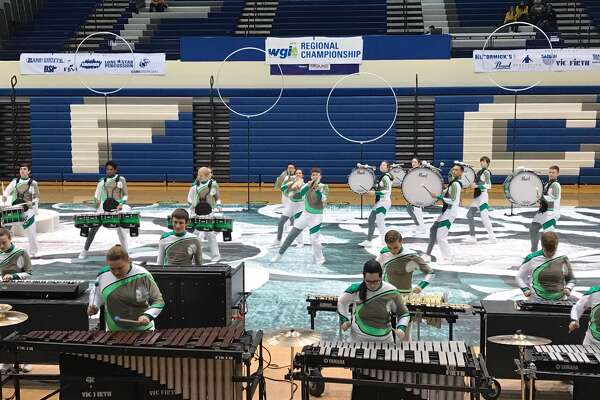 """Edwardsville High School Winter Ensembles are showcasing this year's shows during an exhibition performance on Thursday, March 30th @ 7:30 PM in EHS Gym A for family, friends and the District 7 community. Winter Percussion's show is entitled """"Revolutions"""".  Winter Guard's show is entitled """"Lost in You"""".  This event is free and open to the public.  Please come show your support to these hard working students by giving them a proper send off to this coming weekend's MCCGA Circuit Championships in Springfield, MO."""
