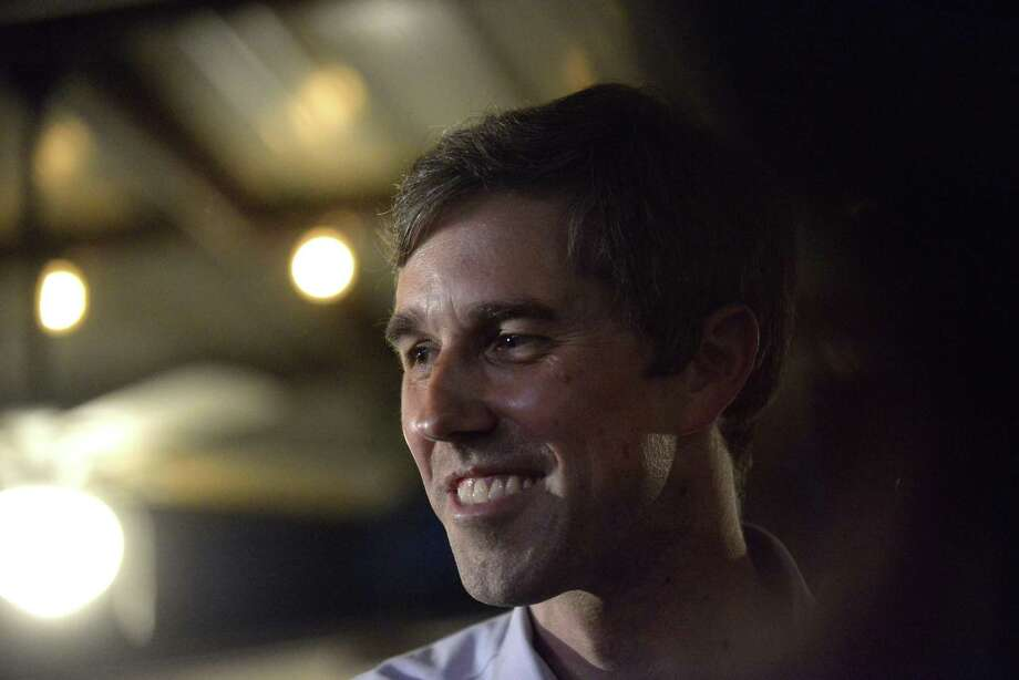 U.S. Rep. Beto O'Rourke, D-El Paso, drew national attention on his motor trip to D.C. with U.S. Rep. Will Hurd, R-San Antonio. Photo: Billy Calzada / San Antonio Express-News / San Antonio Express-News