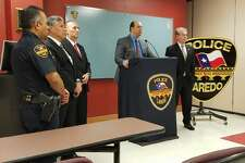Acting Police Chief Gabriel E. Martinez speaks during a news conference regarding Wednesday's shooting.