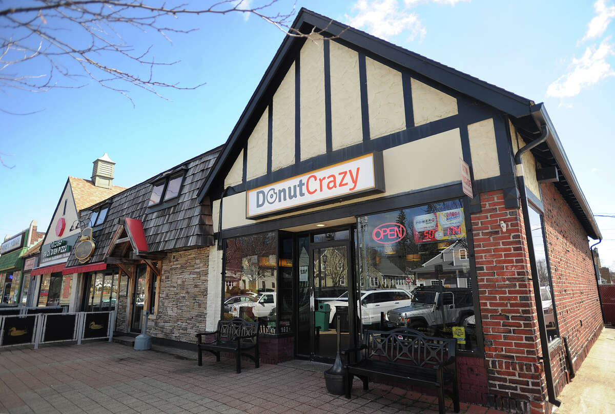 Donut Crazy 3690 Main St. Score: 86 out of 100 (as of Jan. 16, 2019) Infractions: No sanitary bucket setup, food delivery on ground, improper advisory of cooking of meat, cutting board had deep groves at prep table.  Source: Stratford Department of Public Health