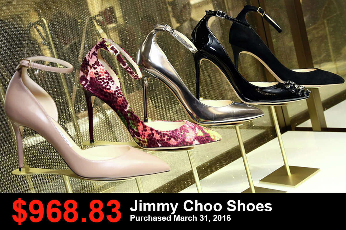 $968.83: Jimmy Choo shoes