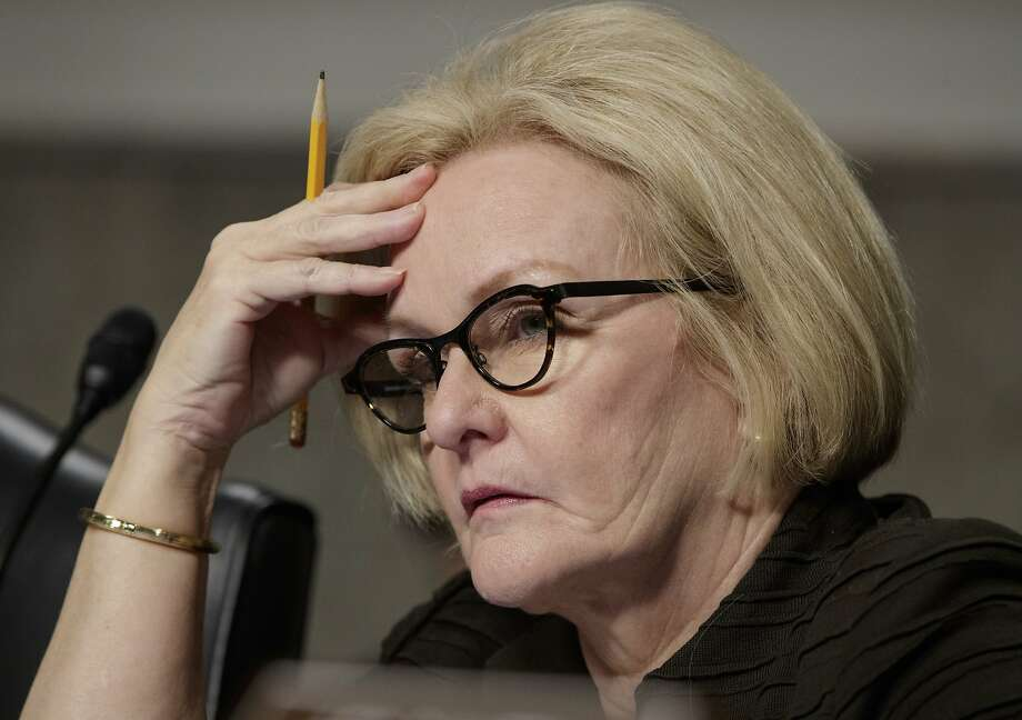 Sen. Claire McCaskill, D-Mo., says the drug industry is not focused on preventing abuse but on fostering addiction. Photo: J. Scott Applewhite, Associated Press