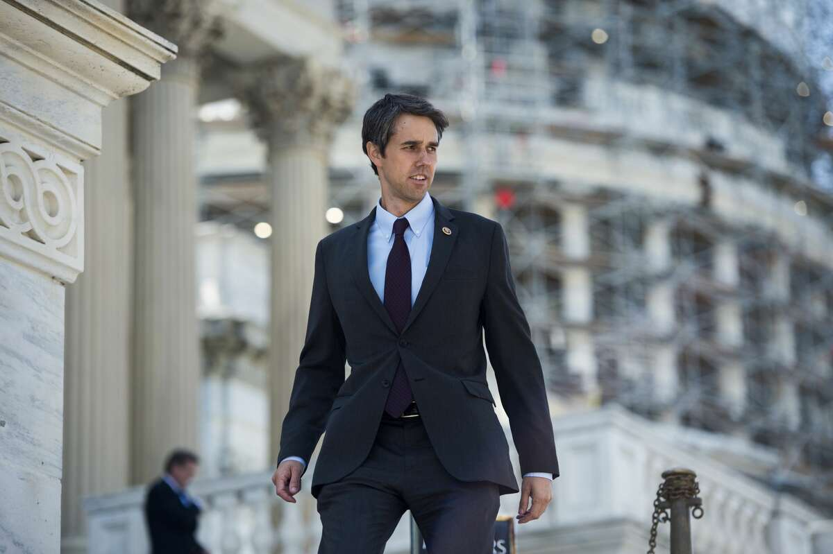 UNITED STATES - JULY 23: Rep. Beto O'Rourke, D-Texas, walks down the House steps after the finals votes of the week on Thursday, July 23, 2015. (Photo By Bill Clark/CQ Roll Call)