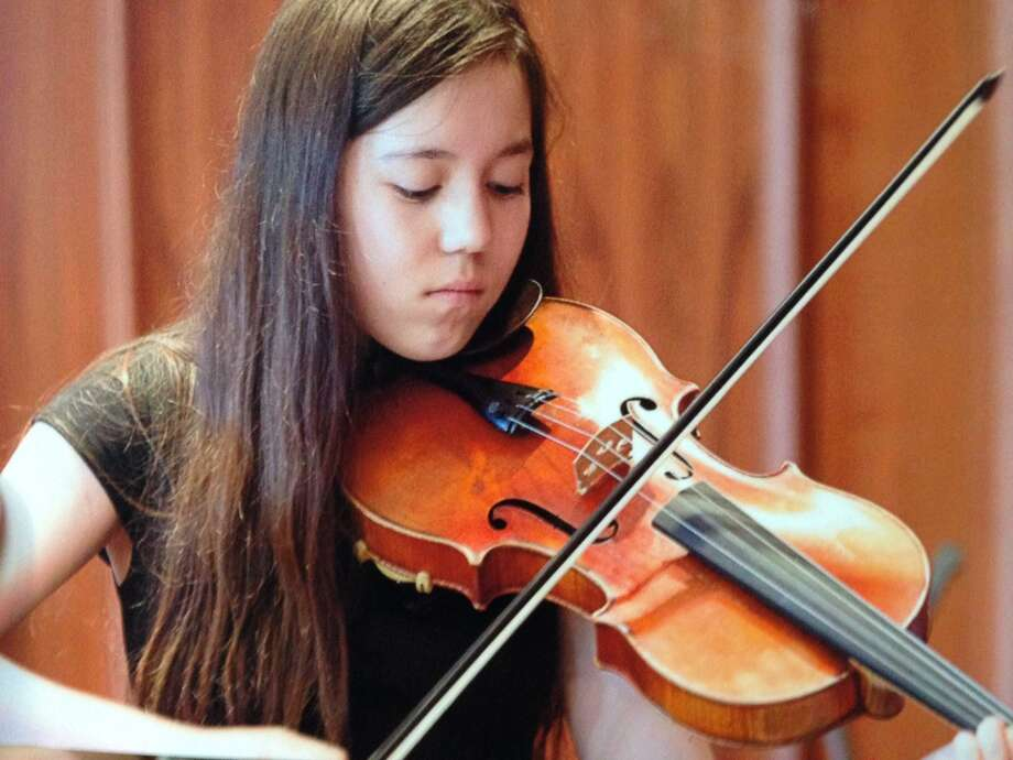 On April 5, 2017, Darien High School junior Sara Baldwin will travel down to New Jersey to play in the prestigious All-Eastern Orchestra. Photo: Contributed Photo / Contributed Photo / Darien News