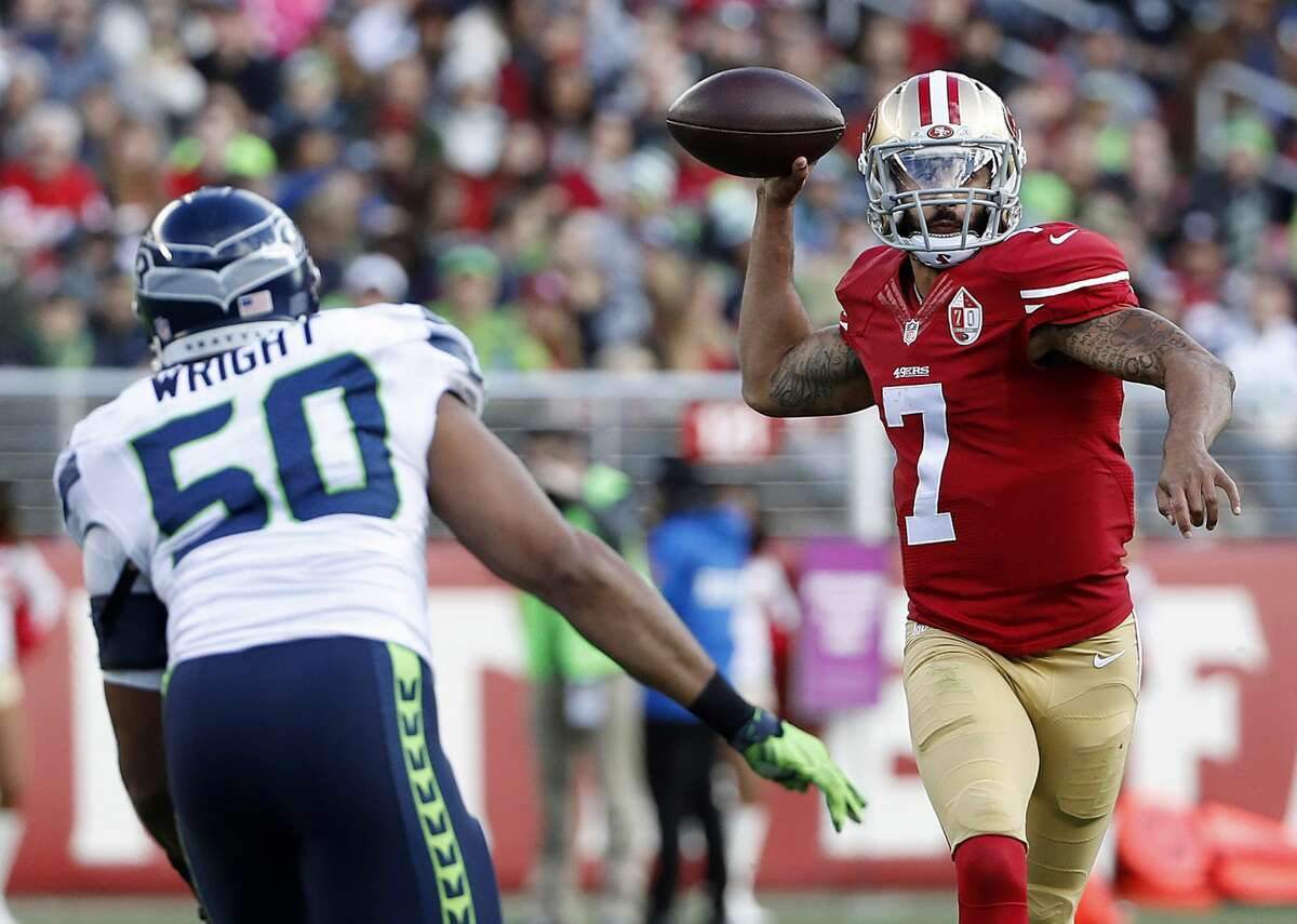 3. Kaepernick's supporting cast in Seattle would be much better than San Francisco Kaepernick played 12 games and threw 16 touchdowns against four interceptions with a 90.7 passer rating in 2016, on a 49ers team with Jeremy Kerley and Quinton Patton as its top two wide receivers. There are arguments for Kaepernick no longer being the mega-talent he was under Jim Harbaugh, but it's safe to assume he'd be a capable passer throwing to Doug Baldwin, Tyler Lockett and Jimmy Graham.