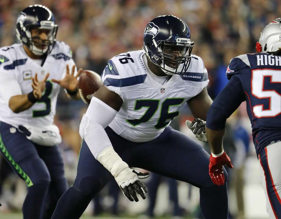 TBD. 2016First selection:Germain Ifedi(OL, Texas A&M)Other notables:Jarran Reed(DT, Alabama), C.J. Prosise (RB, Notre Dame), Nick Vannett (TE, Ohio State), Rees Odhiambo (OL, Boise State)Much was expected of last year's crop of rookies, but first-round pick Ifedi was the only draftee on the field for more than 45 percent of his unit's snaps. Photo: Winslow Townson/AP