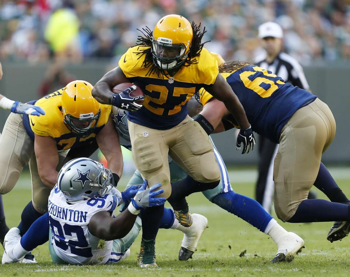Eddie Lacy earned an extra $55,000 for cutting down to 253