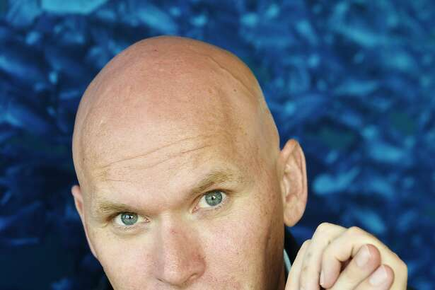 SAINT MALO, FRANCE - MAY 25:   American writer Anthony Doerr poses during a portrait session held on May 25, 2015 in Saint Malo, France. (Photo by Ulf Andersen/Getty Images)