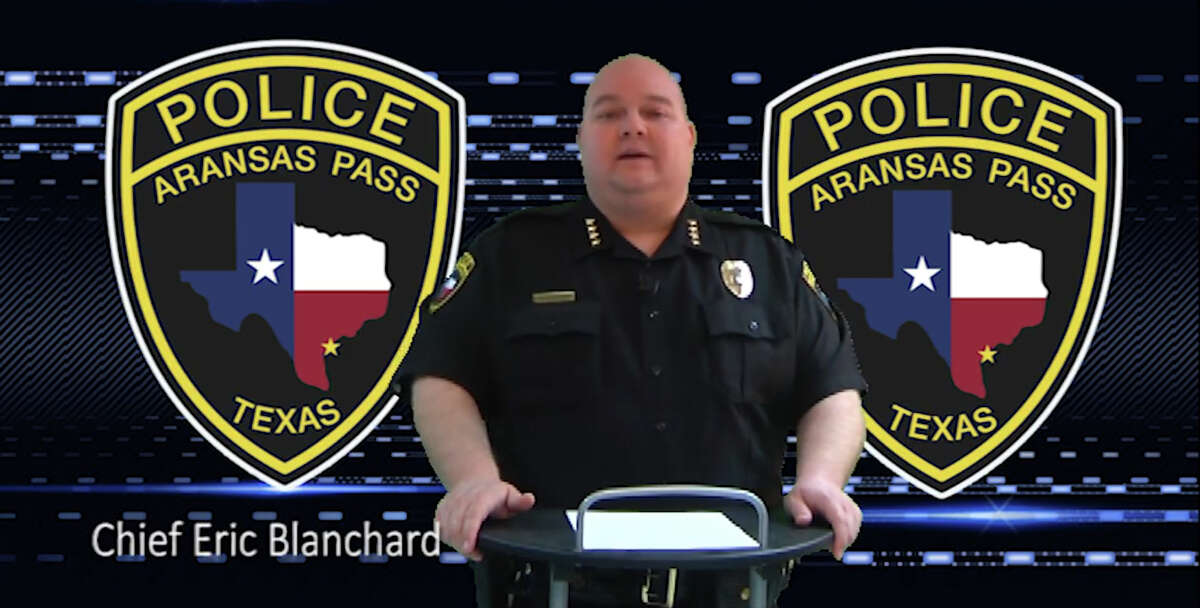 Aransas Pass Police Chief Eric Blanchard suggested arming educators Wednesday at an Aransas Pass ISD board of trustees meeting.