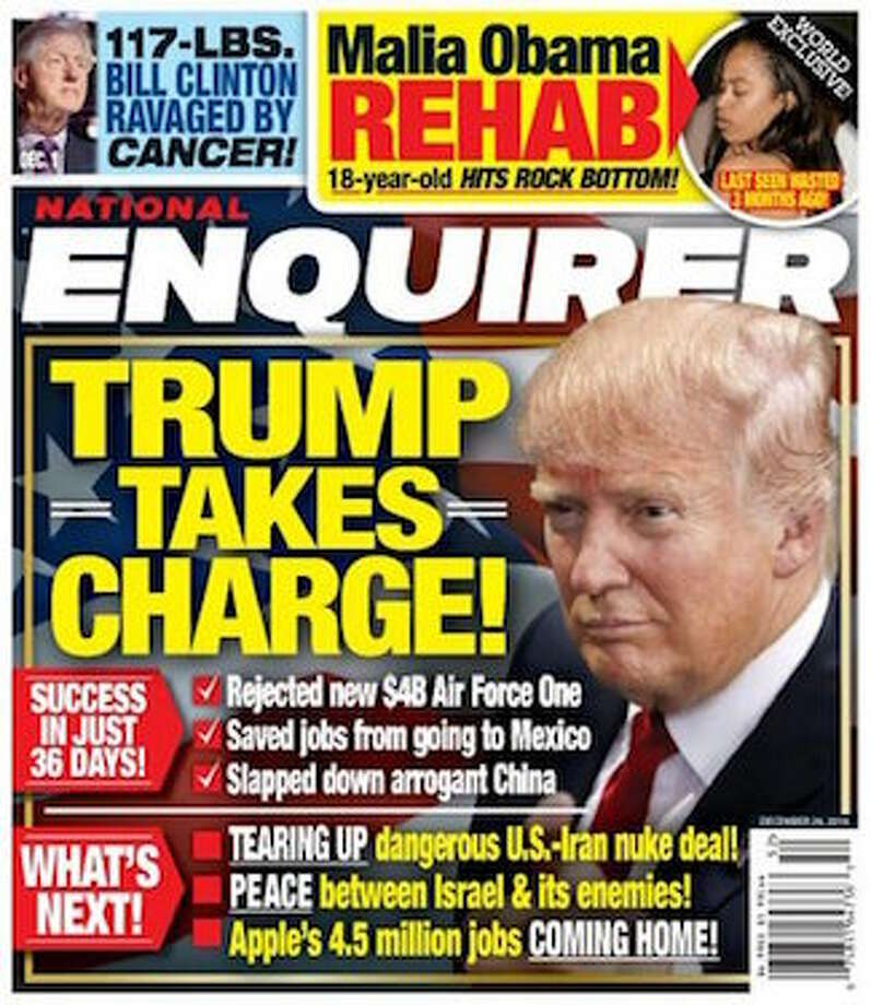 Image result for enquirer covers trump
