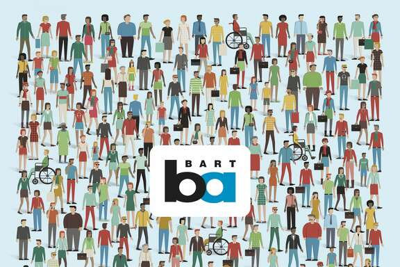 "BART launched a series of posters meant to ""highlight the diversity"" of riders and make them feel welcome, as part of the ""Bay Area Rides Together"" campaign."
