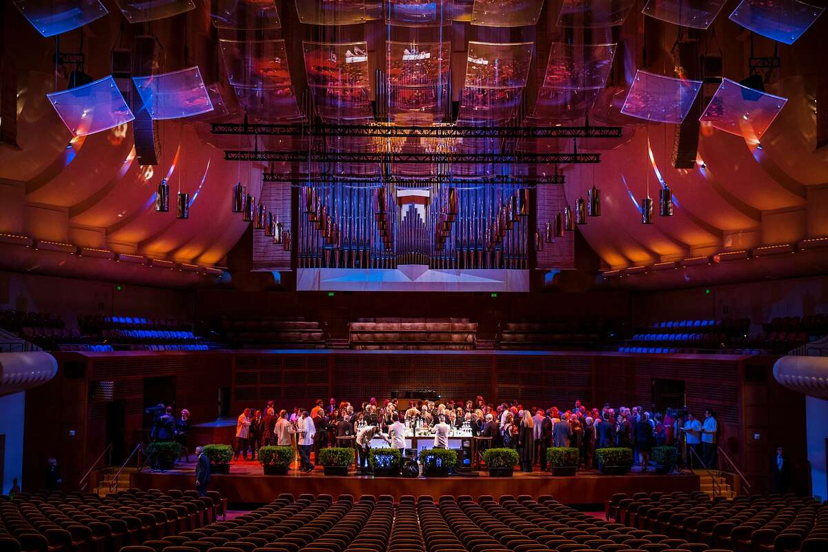 Brent Assink's celebratory event held at Louise M. Davies Symphony Hall on Tuesday, March 28, 2017, in San Francisco, Calif. Assink, the San Francisco Symphony�s executive director, stepped down from his position after 18 years.