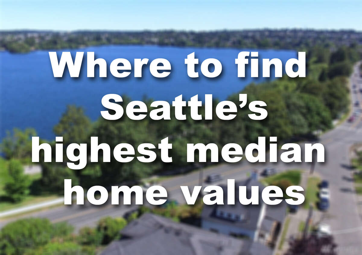 Click through the slideshow to see which 25 Seattle neighborhoods have the highest median home values. If it makes you feel like you'll never be able to afford a home, don't forget that the current market means most of these homes are going for above asking price.