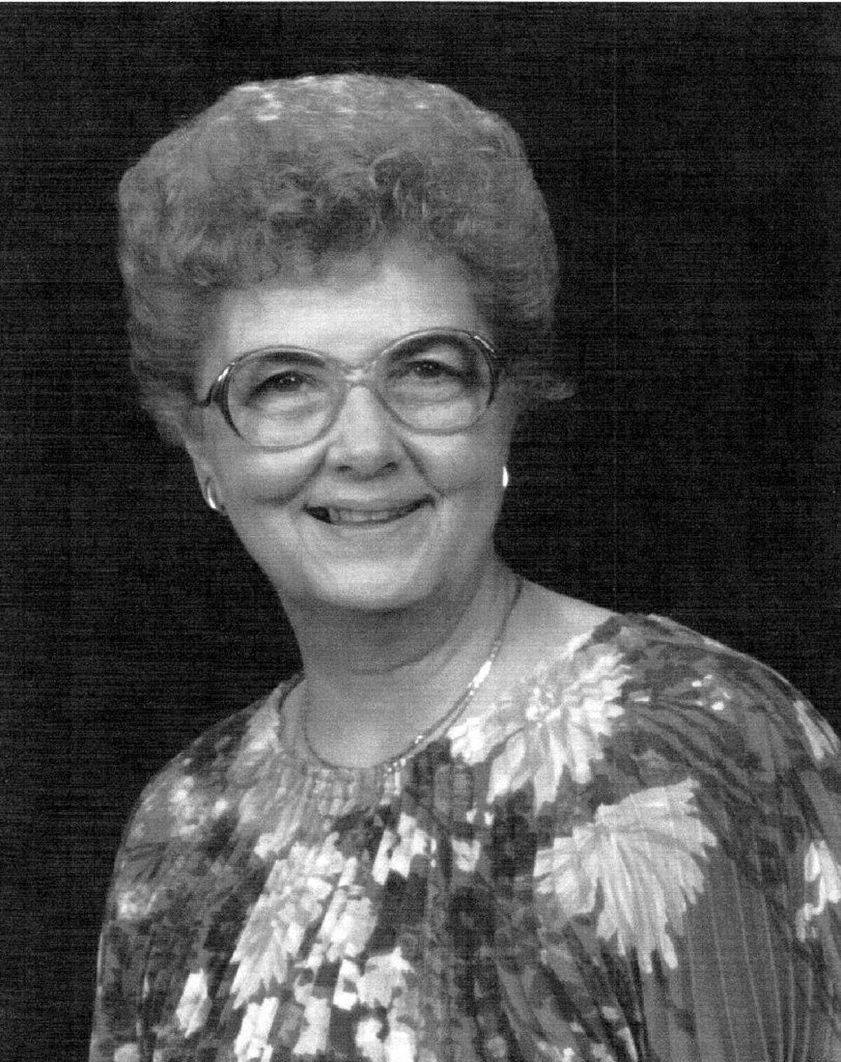 """Elizabeth S. """"Dolly"""" Hudson also worked at Northrop Worldwide Aircraft Services Inc"""