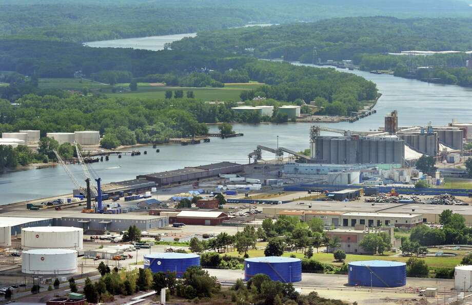 A view of the Port of Albany from the Corning Tower Tuesday, July 26, 2016, in Albany, N.Y. (John Carl D'Annibale / Times Union) Photo: John Carl D'Annibale / 20037451A