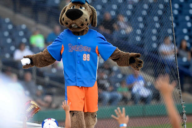 Rocky throws out merchandise during a Midland RockHounds game last year. The 4B board on Wednesday voted to pay off the debt incurred by building the Scharbauer Sports Complex.