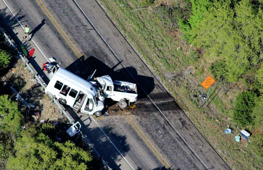 A major collision has shut down Highway 83 near Garner State Park, the Uvalde County Sheriff's Office announced and news outlets are reporting multiple fatalities. Photo: Pete Luna, For The San Antonio Express-News / San Antonio Express-News