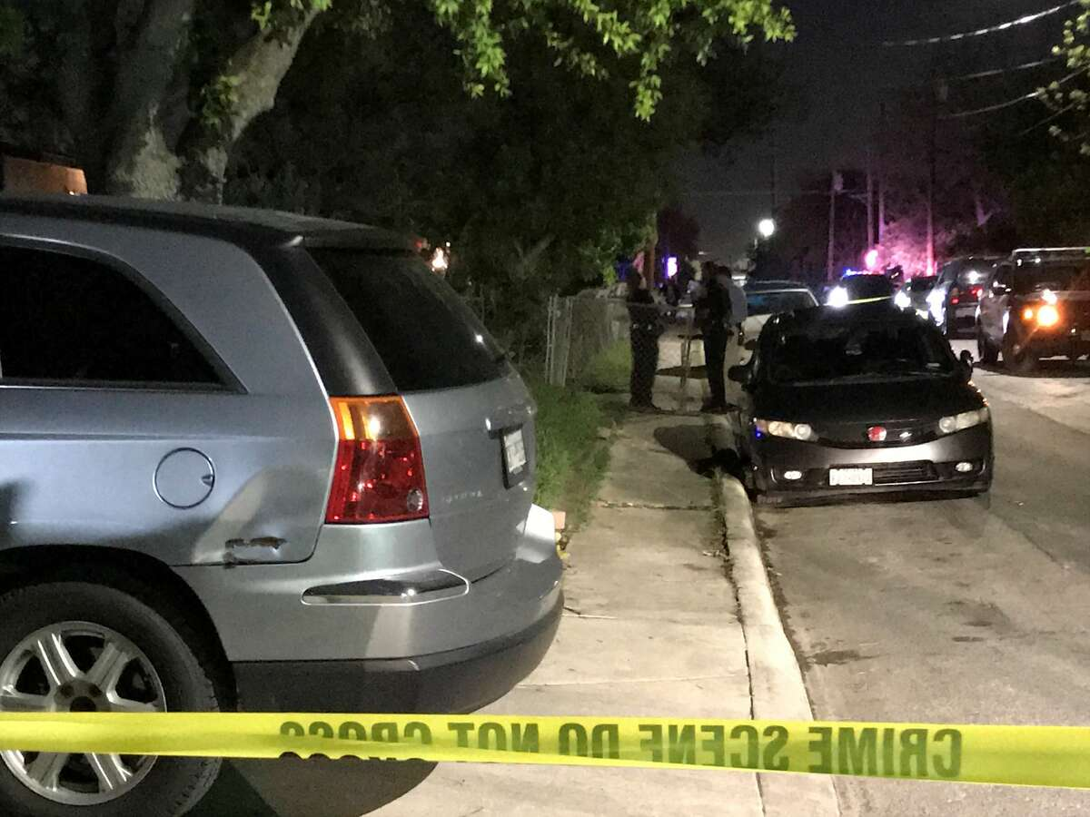 Two men allegedly shot each other about 8:30 p.m. Wednesday March 29, 2017 in the 300 block of Hidalgo Street.