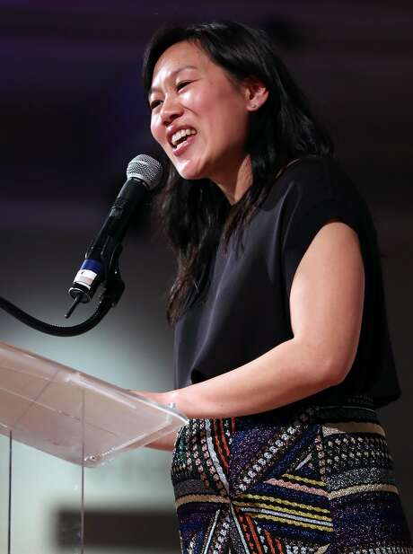 Dr. Priscilla Chan speaks at Teach For America gala at San Francisco Design Center Galleria in San Francisco, Calif., on Wednesday, March 29, 2017. Photo: Scott Strazzante, The Chronicle