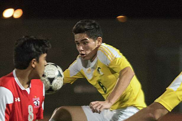 Nixon's Roberto Lobo and the Mustangs host SA Southside in the area round of the state playoffs on Friday at 7:30 p.m. The three other local teams, all from the 6A ranks, travel to play nuetral games.