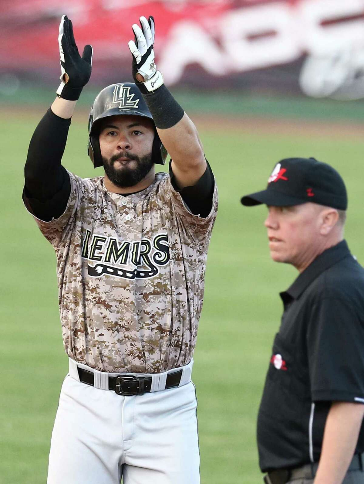 Lemurs infielder Abel Nieves is in his sixth year in the AA and hit .290 last year.