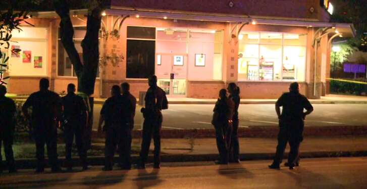 Police found a man dead in a sidewalk in the Heights early Thursday morning. They suspect foul play. (Metro Video)