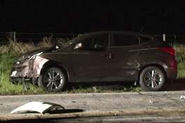 One person is dead and three are injured after a crash Wednesday evening in the city of Waller. (Metro Video)