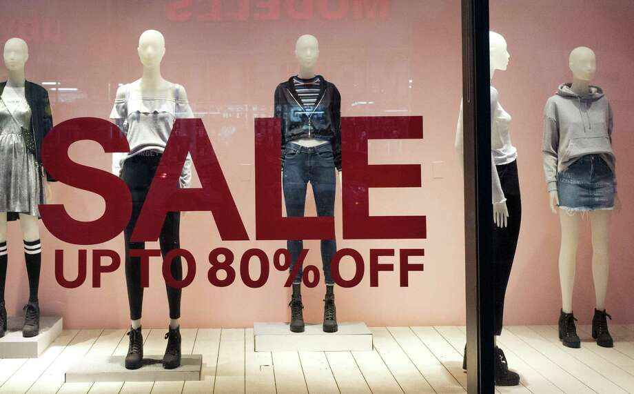 H&M said price cuts to clear inventory over the next three months may exceed last year's, after sales haven't lived up to expectations. Photo: Mark Lennihan /Associated Press / Copyright 2017 The Associated Press. All rights reserved.