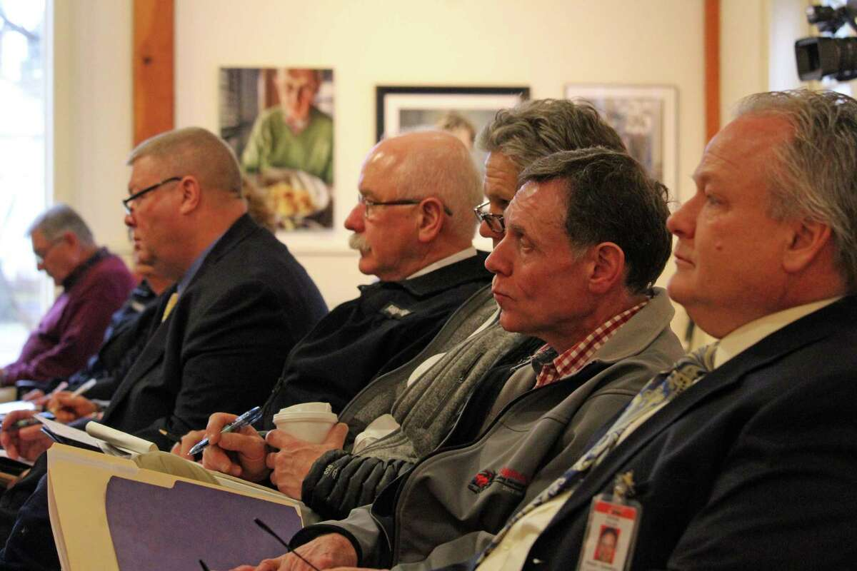 Department heads turned out Tuesday to the Board of Selectmen budget hearing to find out how their departments fared. Fairfield,CT. 3/28/17