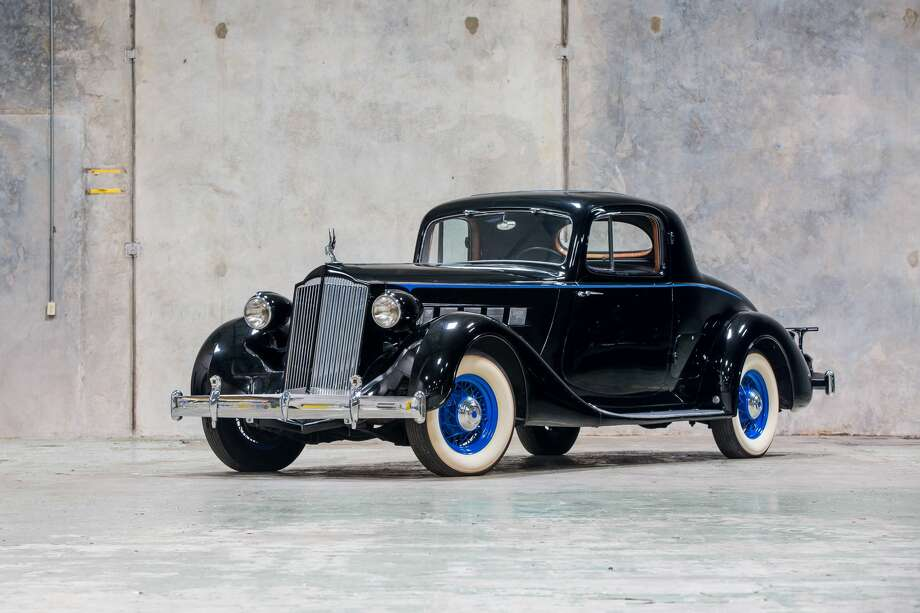 1936 Packard Super Eight Coupe Photo: Mecum Auctions