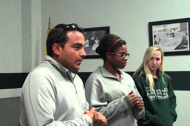 The Houston Dash have hired Omar Morales (left) as an assistant coach.